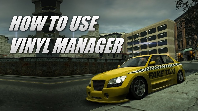 How to use Vinyl Manager in NFS World