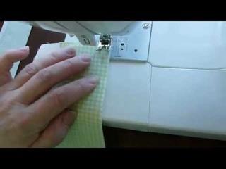 Учимся шить на швейной машинке. Швейные строчки. Двойной шов.