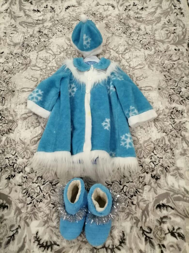 Продам костюм снегурочки.