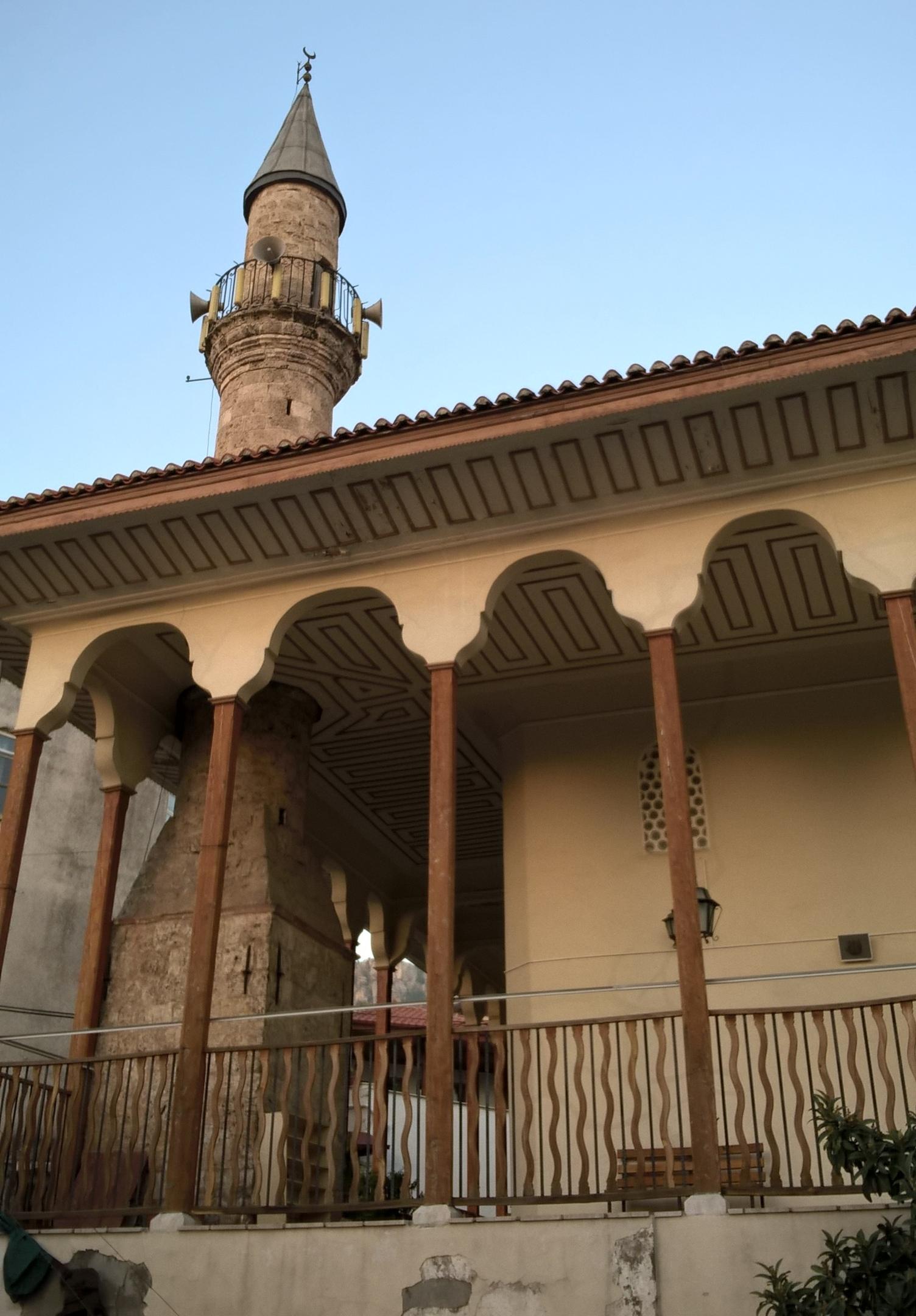 Необычная мечеть в Мугла