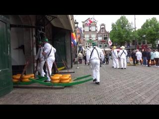 Ярмарка сыра в  Северной Голландии в городе Алкмаар. Фермерский...натуральный...вкуснющий