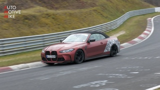 2022 BMW M4 G83 CONVERTIBLE SPIED TESTING!