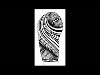 Эскизы для татуировки полинезия