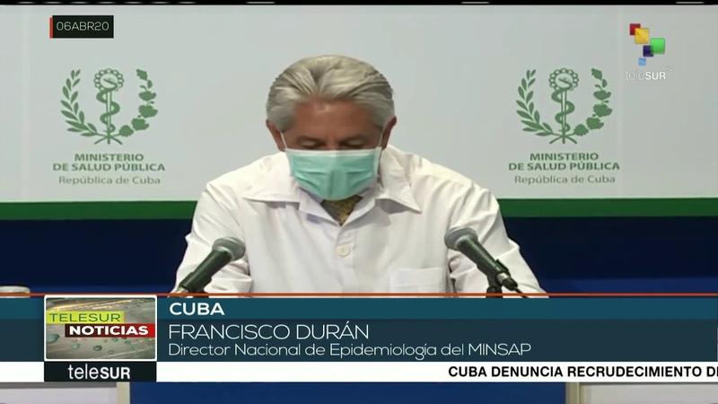 Cuba 350 casos confirmados de COVID 19