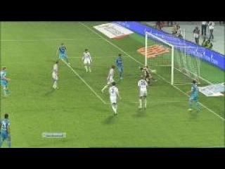 зенит - Волга, 90+1-я минута. Широков забивает третий гол отношение к фанатам
