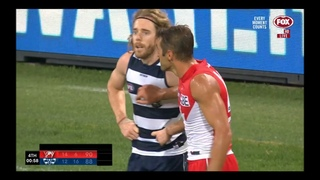Sydney Swans vs Geelong Cats - Final 2 minutes - AFL Round 7 2021