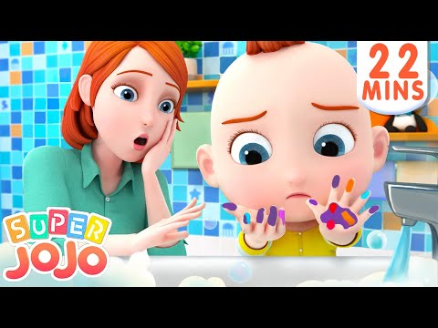 Wash Your Hands Song Healthy Habits For Kids More Nursery Rhymes Kids Songs Super JoJo