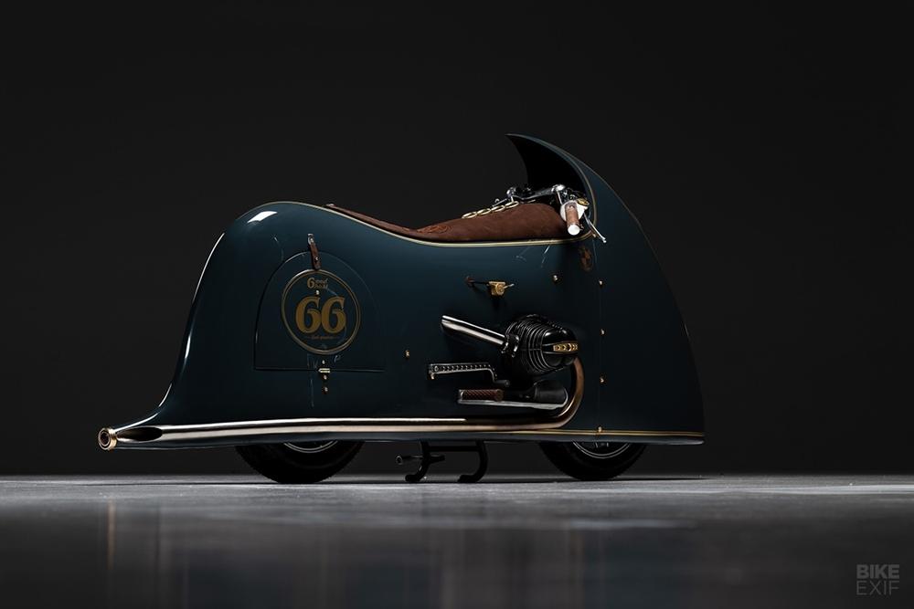 Kingston Custom: нетипичный кастом BMW R100