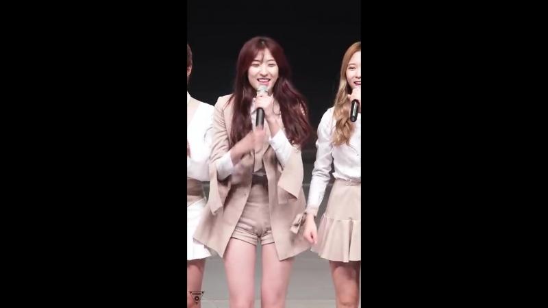 161026 Y틴 YTEEN 우주소녀 WJSN 은서 Eunseo Do Better