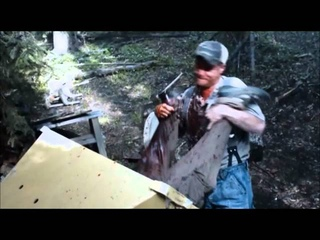 """Tucker and Dale vs Evil - After an unfortunate meeting with a wood chipper - """"You OK?"""""""