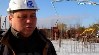 В Керчи строят новый дом для переселенцев с Цементной Слободки