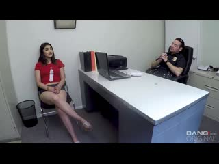 Kim Torres - Gets Out Of Getting Booked By Fucking The Intake Cop [All Sex, Hardcore, Blowjob, Gonzo]