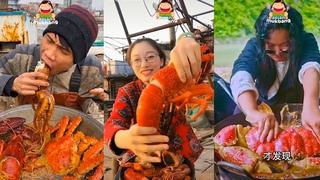 ĂN HẢI SẢN chất nhất vịnh bắc bộ nhồm nhoàm-Cuộc sống ngư dân Trung Quốc quá đẳng cấp ĂN CAY 1000 độ