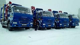 В  Коми  поступили  новые  мусоровозы  на  газомоторном  топливе