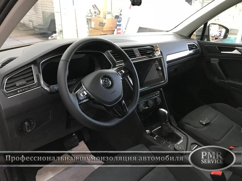 Шумоизоляция Volkswagen Tiguan, изображение №16