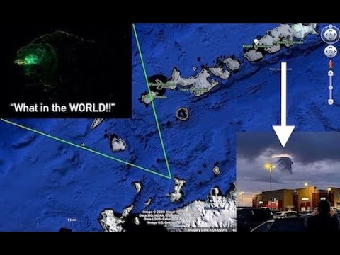 Mysterious Green Water Anomaly in South Pacific!