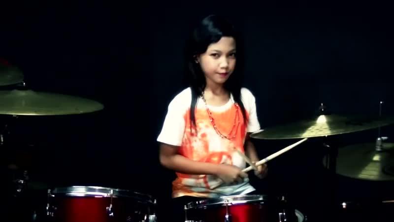 Manis Manja BeTe Drum Cover by Nur Amira Syahira