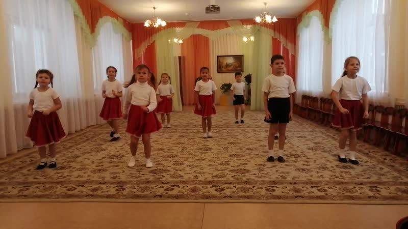 Раз два три оригинальный противовирусный танец 2020 МБДОУ №5 гю Ковров