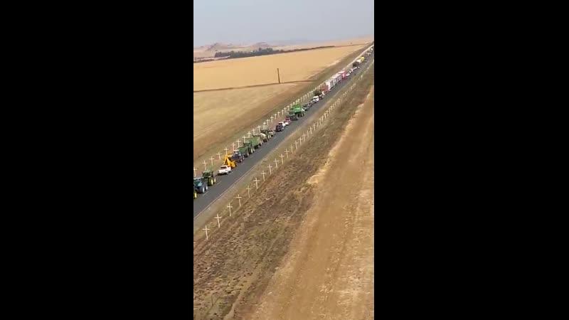 Afrique du Sud une croix pour chaque fermier blanc tué impressionnant