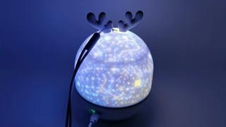 """Детский Ночник Проектор """"Звездное небо"""" со сменными проекциями. Бренд : #VooVoo"""