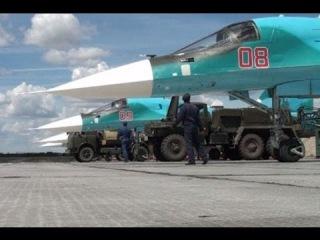 В Ростовскую область прибыли новые бомбардировщики Су-34