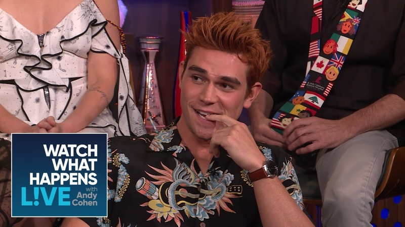 KJ Apa And Cole Sprouse Saw An Old Man's Penis | WWHL