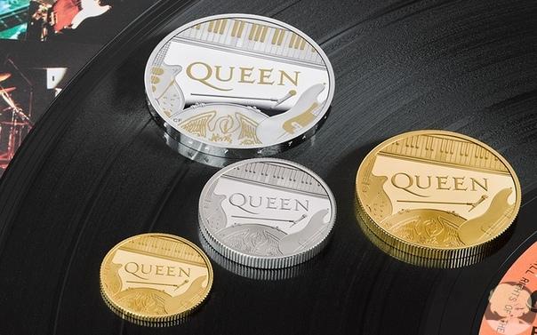 Когда встретились две королевы: британский монетный двор выпустил монеты в честь группы Queen В Великобритании выпустили серию памятных монет, посвященных Queen, сообщается на сайте