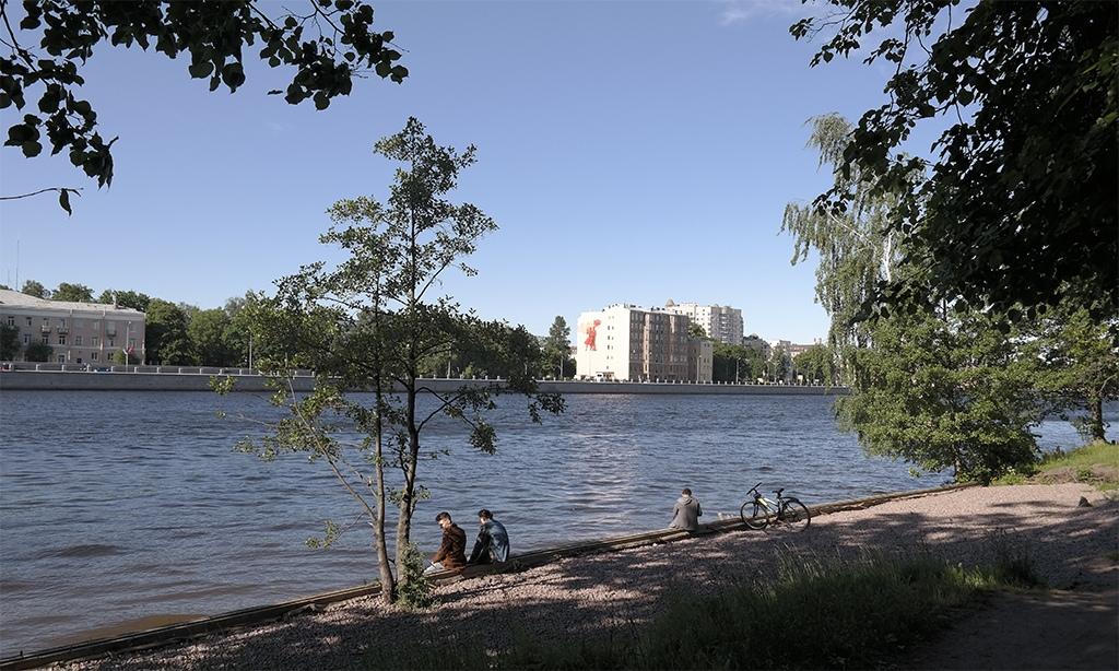 Большая Невка, Каменный остров, Петербург