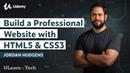HTML5 CSS Development Learn How to Build a Professional Website Udemy, Jordan Hudgens