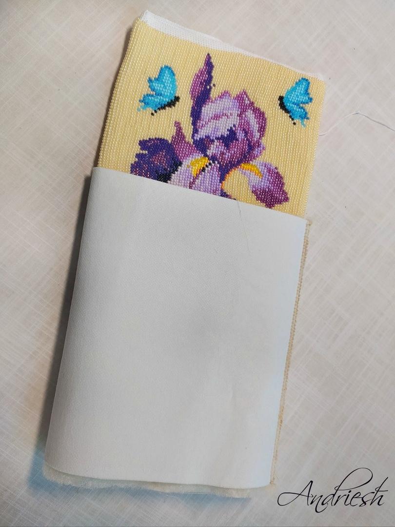 Как я сшиваю донышко и вшиваю в сумки подклад и фермуар., изображение №15
