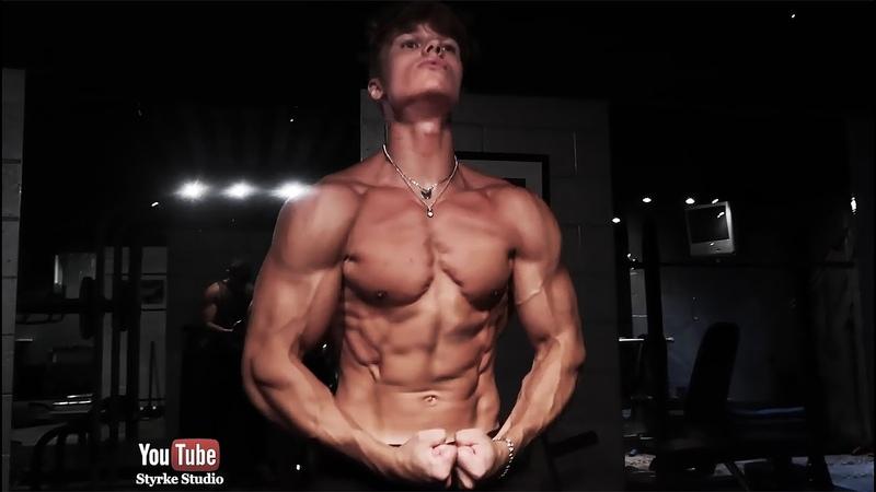 Introducing Teen Bodybuilder Joseph Riser Gym Pump Styrke Studio