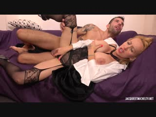 Indecentes-voisines lena lena, 26ans, double la mise ! [blonde, big tits, tattoos, anal, cum in mouth, threesome, mmf]