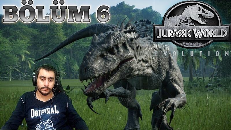 Paramız Bitti Dinazor Sattık Monrail İstasyonları Yaptık Jurassic Park Evolution 6 Bölüm Türkçe
