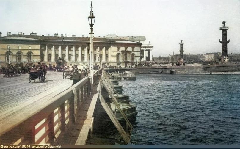 Эксклюзивные цветные фотографии Петербурга начала 20 века - часть 2, изображение №13