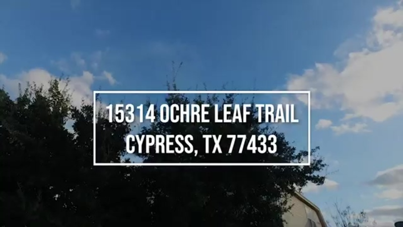15314 Ochre Leaf Trail, Cypress, TX 77433 With Voice Over