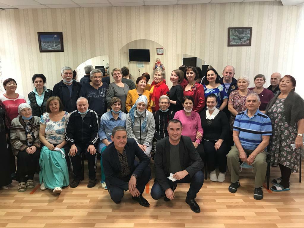 Благотворительный концерт в «Пансионате для ветеранов труда»