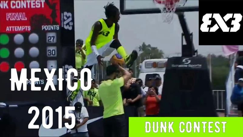 Dunk Contest Mexico City 2015 (Detro)