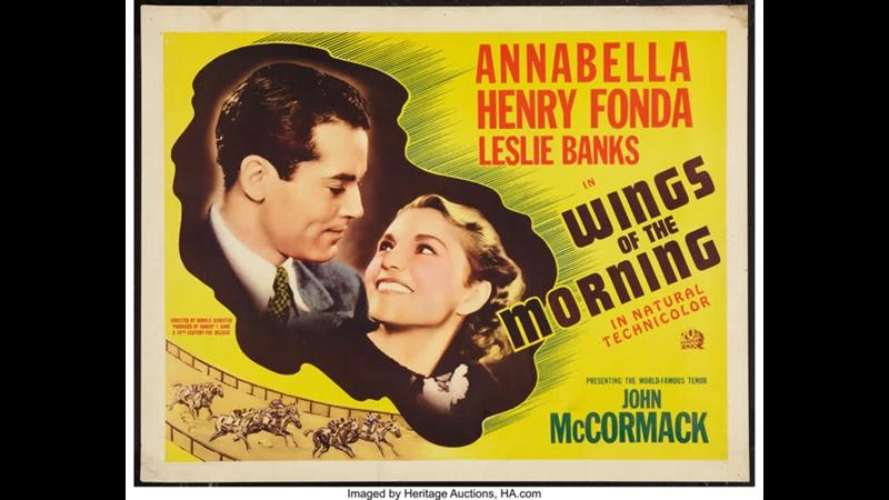 Wings of the Morning (1937) Annabella, Henry Fonda, Leslie Banks