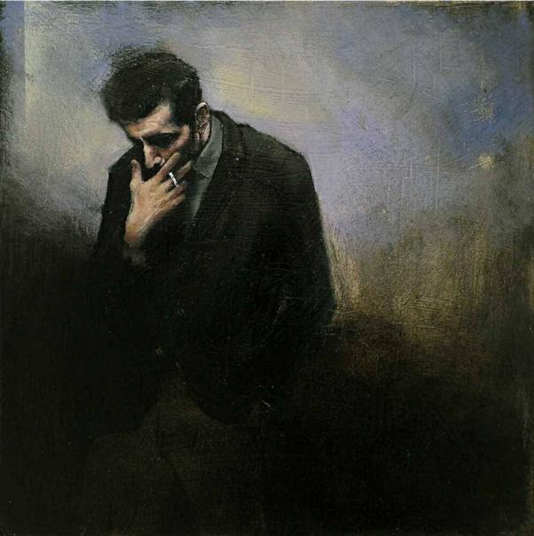 Тоскливей ничего на свете нету, чем вечером, дыша холодной тьмой, тоскливо закуривши сигарету, подумать, что не хочется домой Игорь