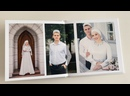 Свадебная фотокнига 20х20 10 разворотов, 29 фотографий
