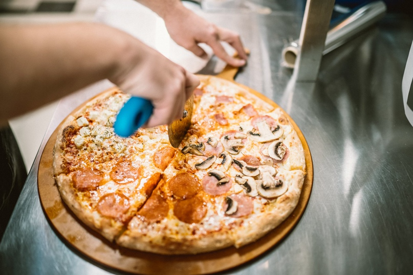 Приятные скидки на всё меню от «Додо Пицца» в бизнес-центре «Нагатинский»