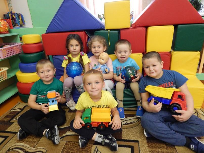 Вот они какие - воспитанники тырышкинской дошкольной группы.