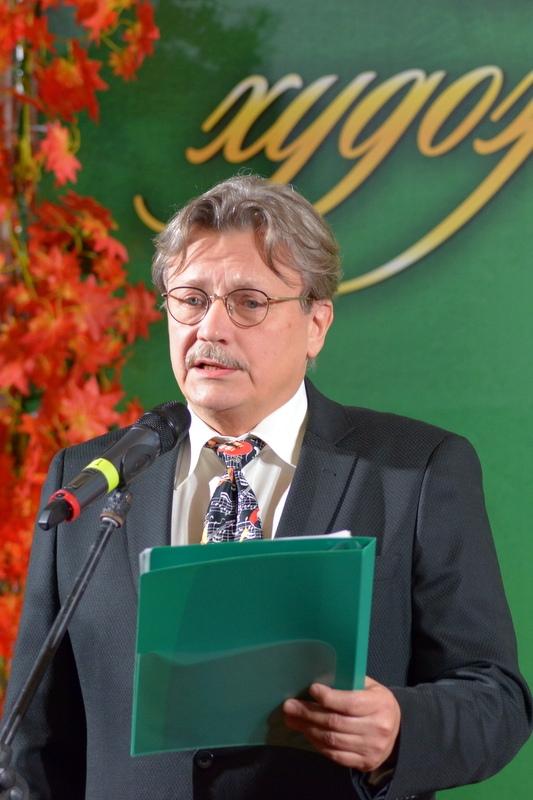 Андрей Максимков ведет церемонию вручения «Царскосельской премии-20202»