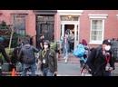 CAST MEMBERS LEAVES INTERIOR SET AFTER FILMING GOSSIP GIRL REBOOT IN NEWYORK
