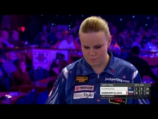 Corrine Hammond vs Anastasia Dobromyslova (BDO World Darts Championship 2017 / Semi Final)