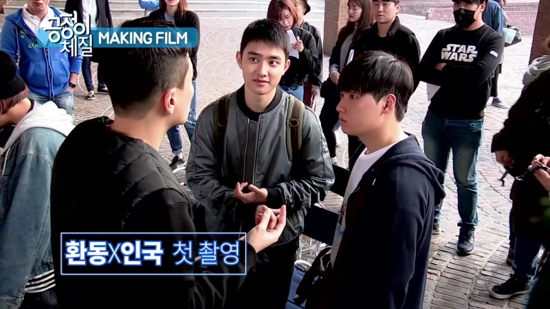 [VIDEO] 161025 EXO DO @ 'Positive Physique' Film Making