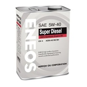 Масло ENEOS Super Diesel Synthetic 5w40 CH-4 синт. (4 л)
