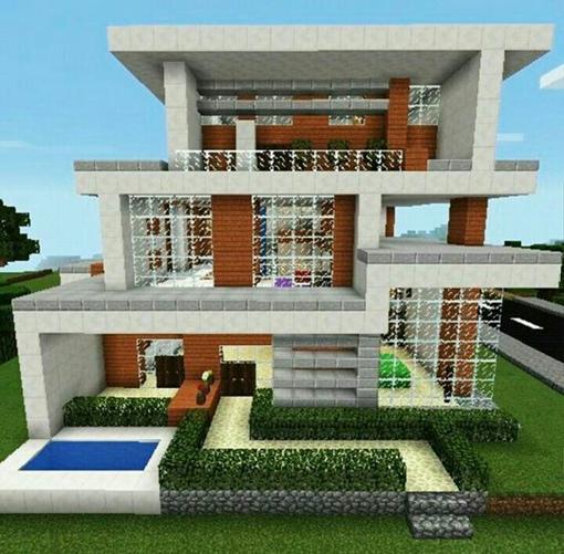 как построить в майнкрафте дом на сайте мир #8