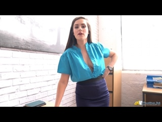 Charlie Rose - Wanking In The Workplace downblouse