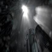 Footage Full HD (футаж) - rain in the city